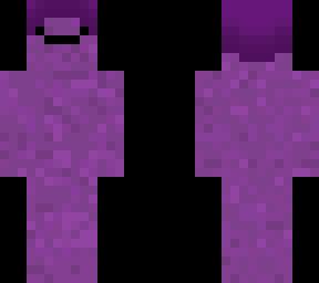 a purple man