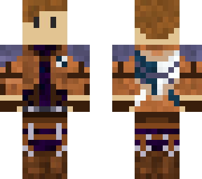 Attack of titan scout without mask