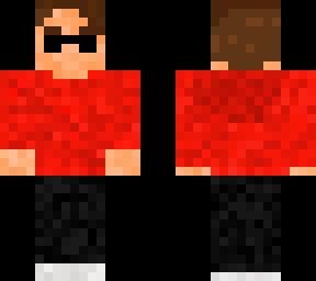 Average boy w red hoodie