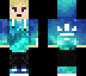 blue adidas guy
