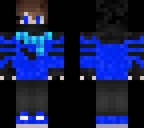 blue guy Winter edition