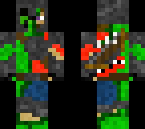 Creeperred shirt warrior hybrid