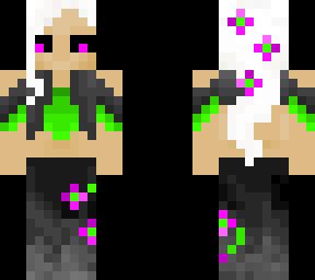 Dark flower nymph