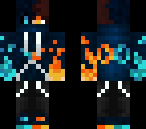 Elemental Warrior with brown hair