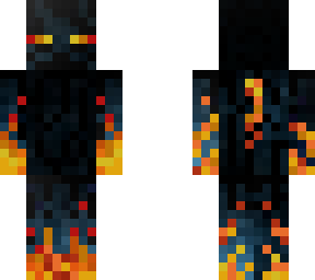 Ender man with fire powers i guess