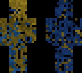 Fantasma azul y marrn