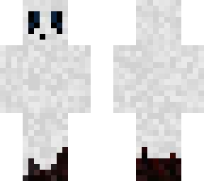 GHOST SKIN FOR HALOWEEN