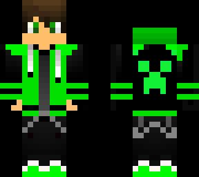 Green hodie
