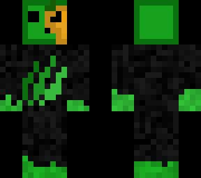 Green Slime Halloween Skin