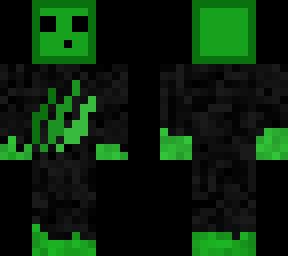Green Slime Skin Self Made