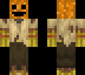 Halloween Skin Jack o Lantern Troling