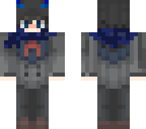 Hiro Blue Scarf