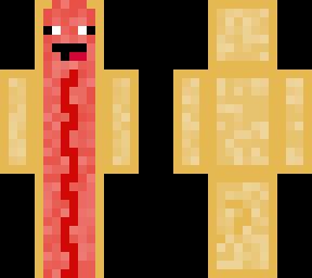 hotdog with ketchup