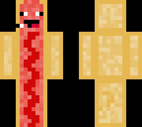 human hotdogs Minecraft skin