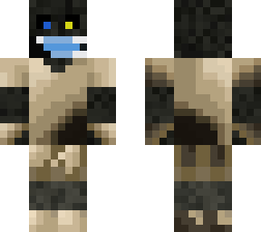 If my new skin can wear a mask you can to