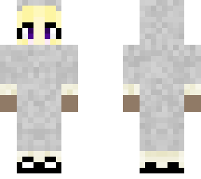 Light Gray Sheep Costume