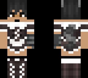 Maid Raccoon Boy Skin