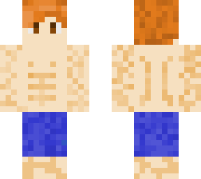 Muscle boy Ginger