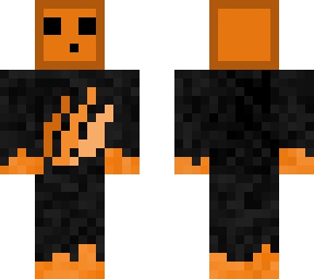 Orange Slime Skin Self Made