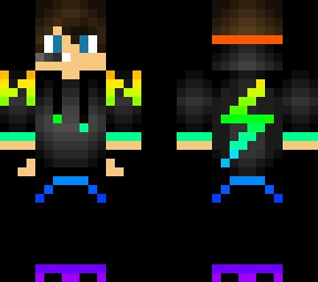Rainbow gamer boy