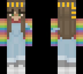 Rainbow Hufflepuff Girl