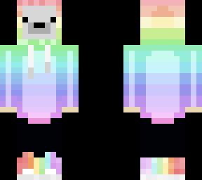 rainbow polar bear