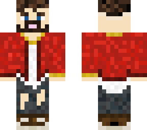 Red Jacket guy
