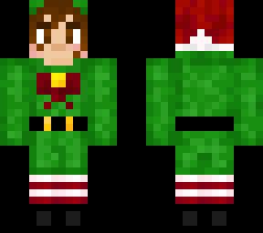 Renee 2020 christmas elf