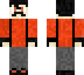 The RedFlash10 skin with mustache