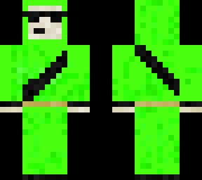 Tobys green teletubby
