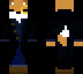 trench coat fox