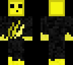 Yellow Slime Skin Self Made