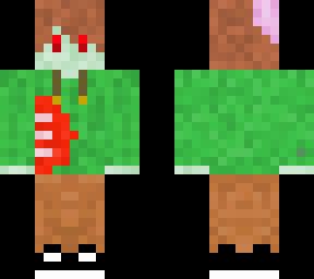 Zombie main skin  skin colour changed